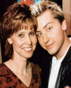 Diane and Lance Bass